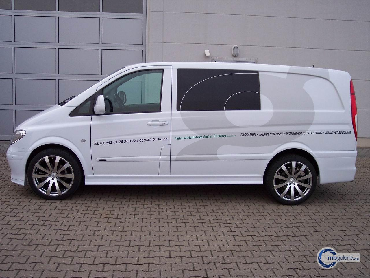 mercedes vito viano w639 tuning 2008. Black Bedroom Furniture Sets. Home Design Ideas