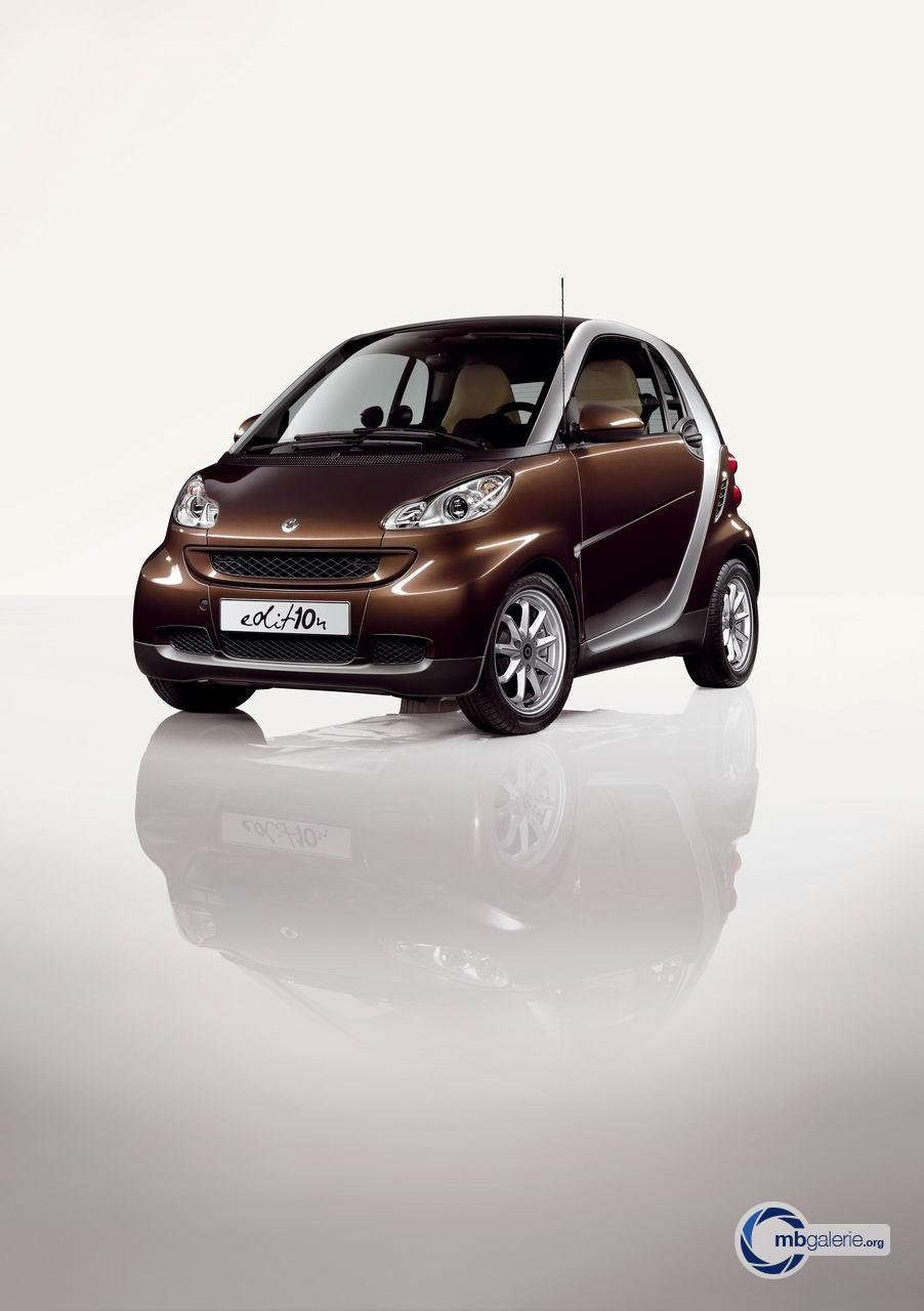 Mercedes benz smart fortwo w451 modellpflege edition for Mercedes benz smart fortwo