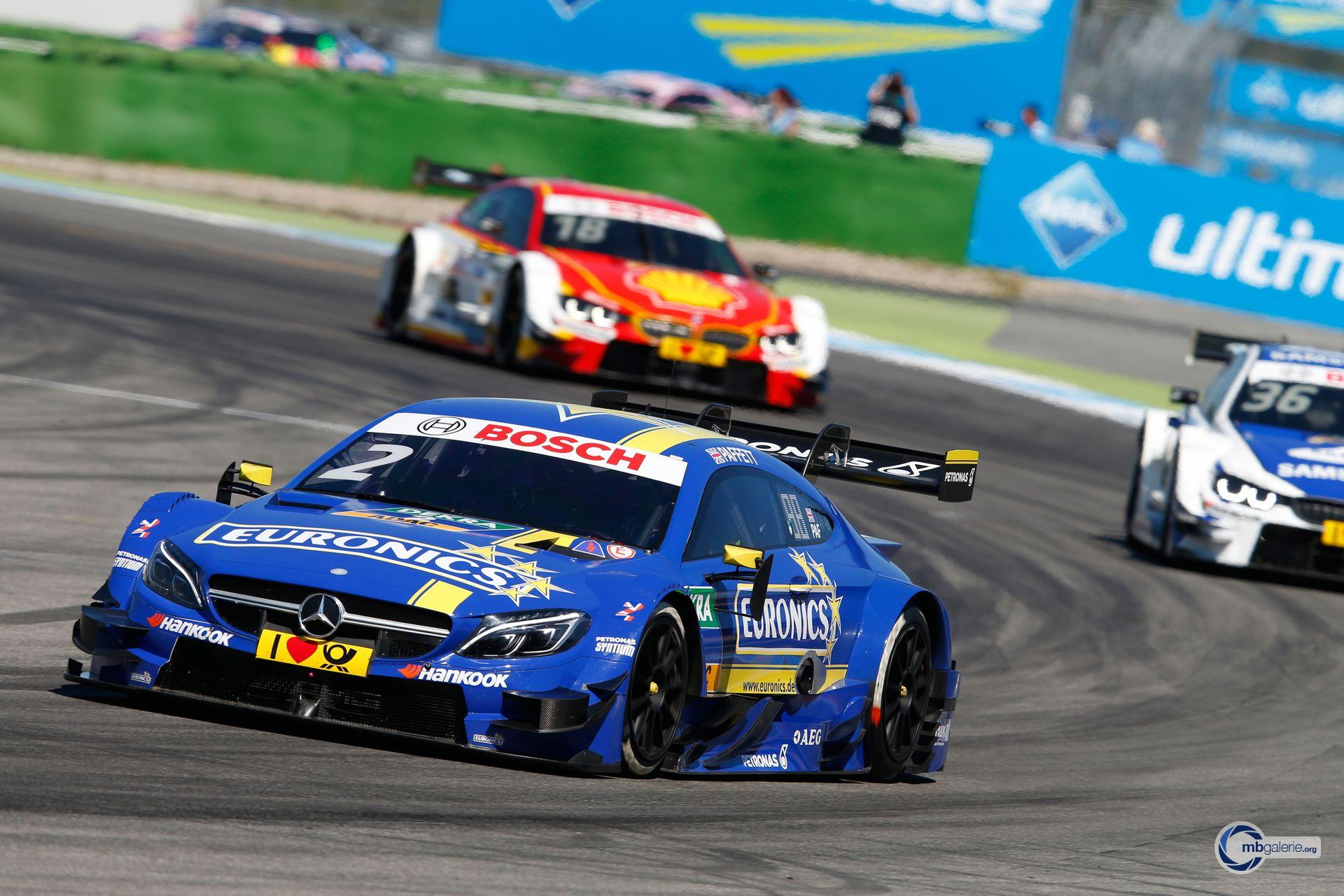 Mercedes benz motorsport dtm saison 2016 01 hockenheim for Mercedes benz motorsport