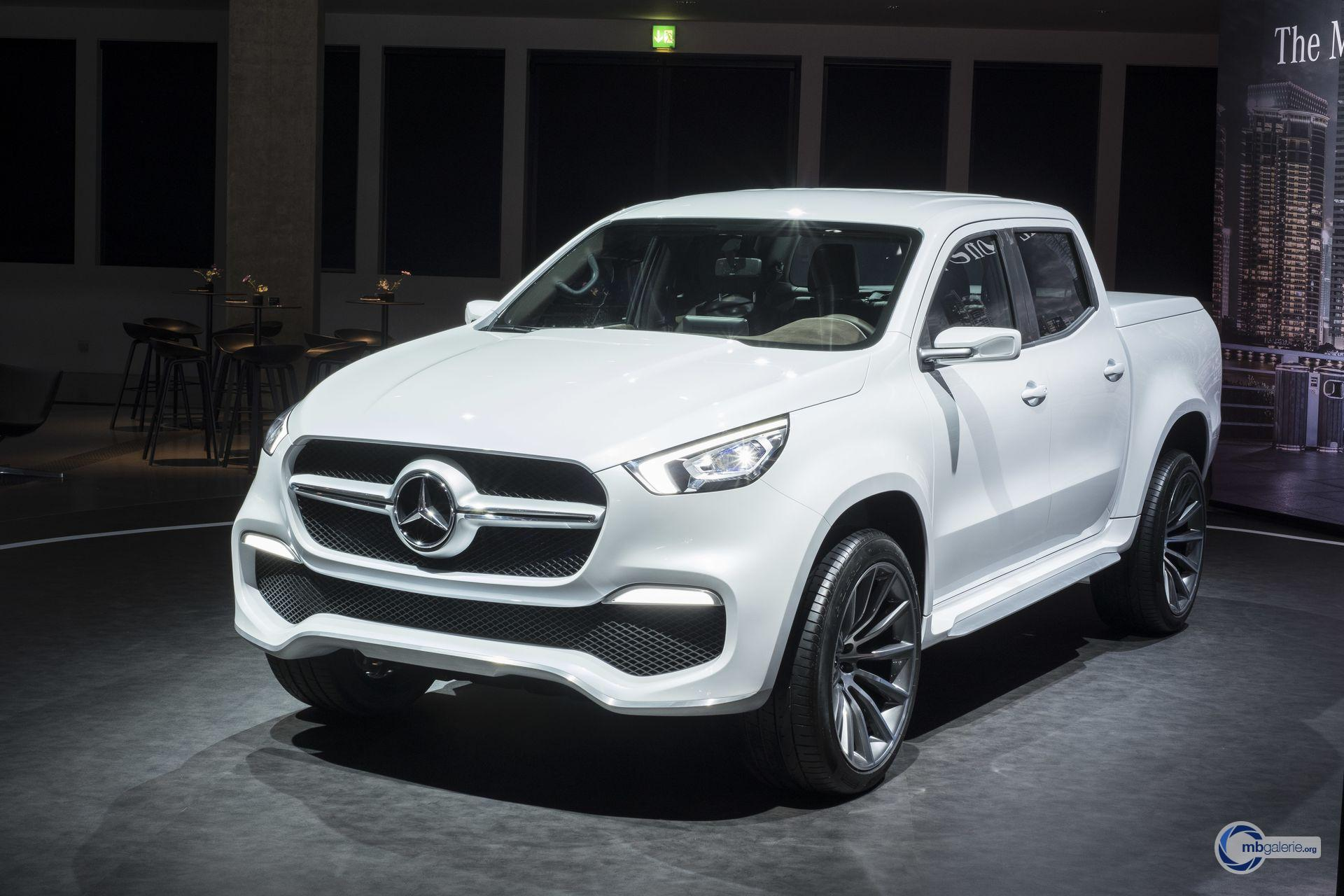 Mercedes X Class Pictures