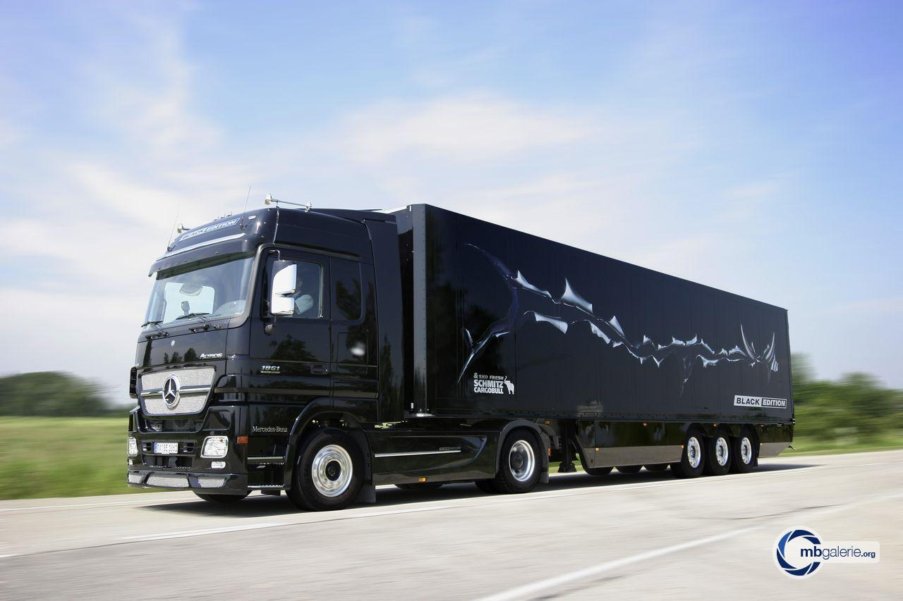 mercedes benz nutzfahrzeuge lkw actros mp2 black edition. Black Bedroom Furniture Sets. Home Design Ideas