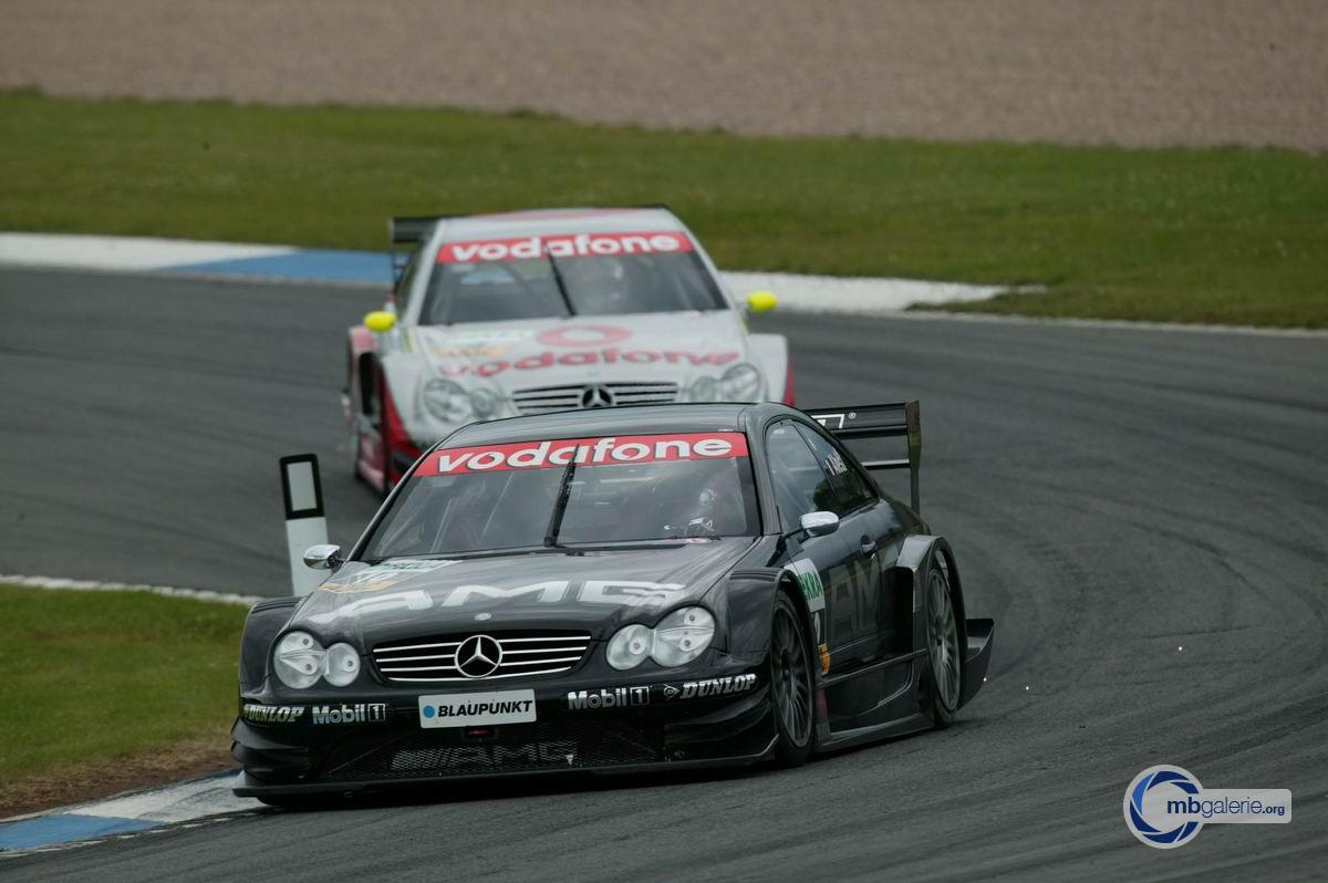 Mercedes benz motorsport dtm saison 2003 06 donington for Mercedes benz motorsport