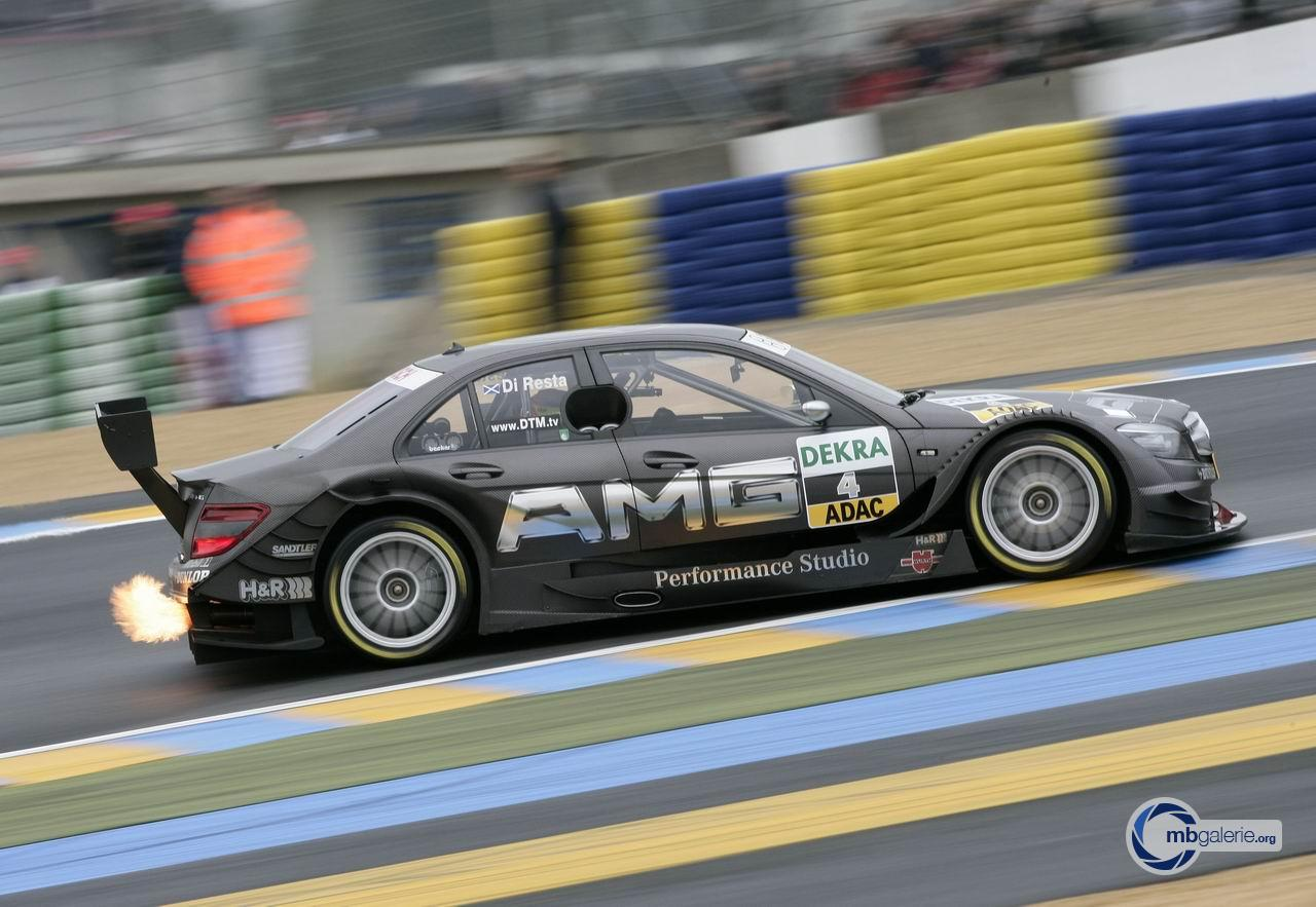 Mercedes benz motorsport dtm saison 2008 10 le mans for Mercedes benz motorsport